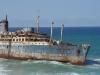 Garcey Beach Fuerteventura Ship 2005