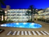 Hotel Las Gaviotas swimming pool night